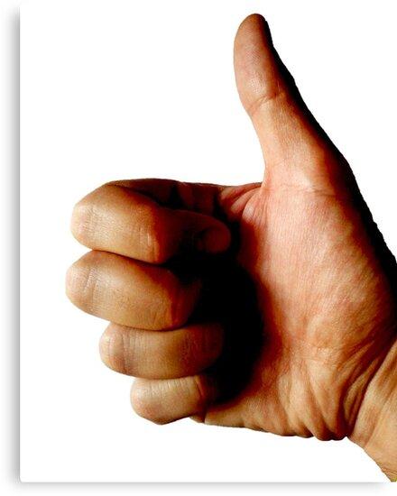 Thumbs Up Regular Photography by magarigaveras