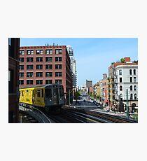 Chicago Subway Photographic Print