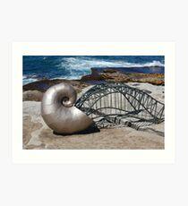 Sea Sculptures Art Print