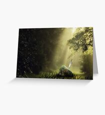 The Sword in the Stone Greeting Card
