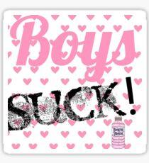 Boys Suck! Sticker