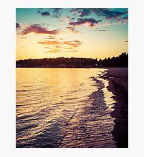 June in Sweden Photographic Print