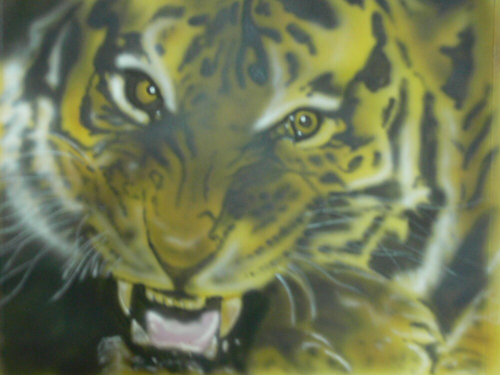 tiger 1 by David ( Cheech ) Atkinson