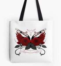 Guns and Roses RED Tote Bag