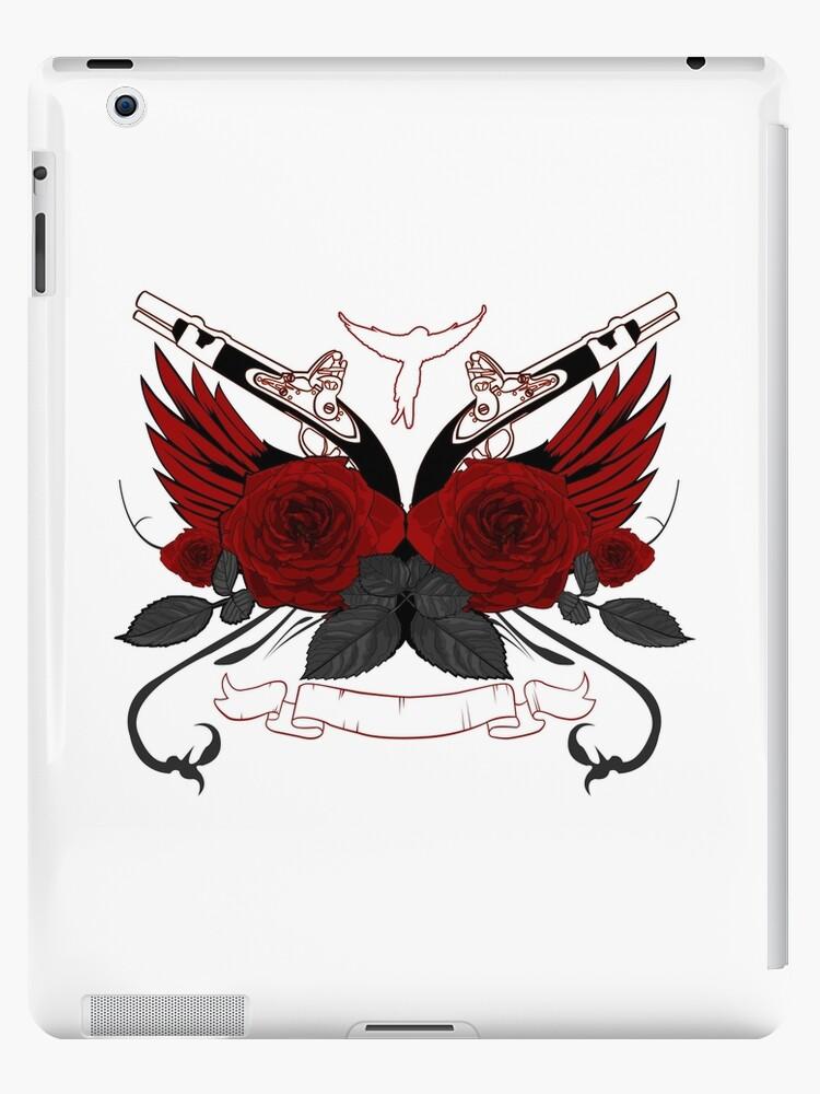 Guns and Roses RED by Adam Santana