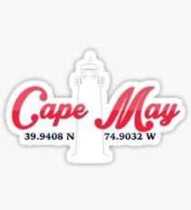 Cape May Sticker Sticker