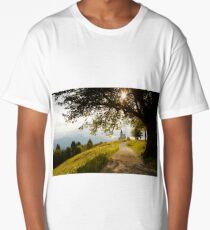 Jamnik church of Saints Primus and Felician Long T-Shirt