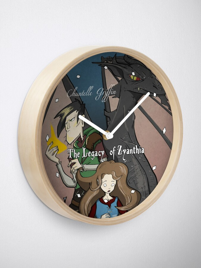 Alternate view of The Legacy of Zyanthia Clock