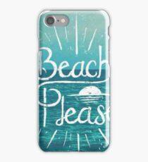 Beach Please Circle iPhone Case/Skin