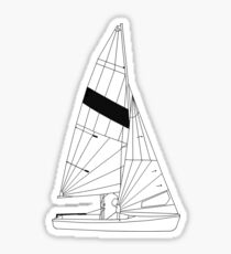 FJ Sailboat Sticker