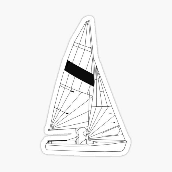 FJ Sailboat Sticker