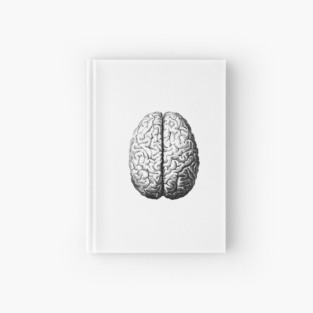 Anatomically Correct Brain Hardcover Journal