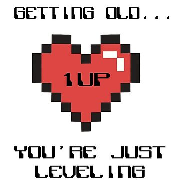 You're not getting old... You're just  leveling up! by Tessa-V