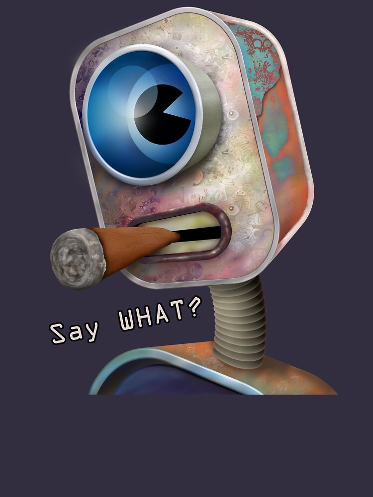 Say What Robot by Ruffmouse