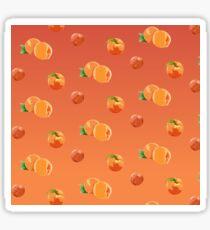 Peach Pattern Sticker