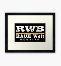 GERMAN RWB Framed Print
