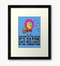 Spongebob Squarepants - Summer Framed Print