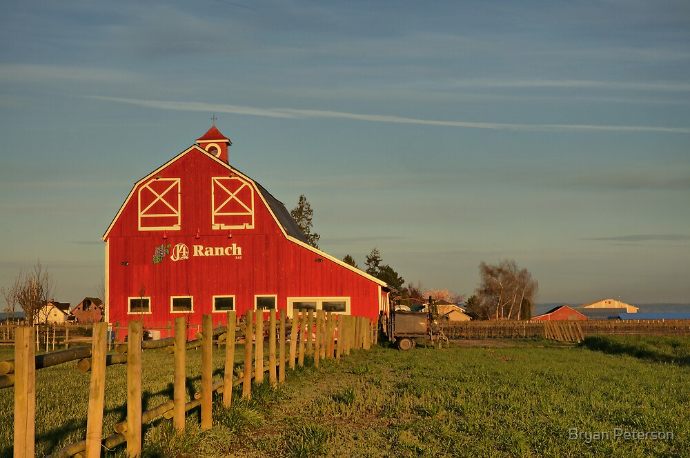 Little Red Barn by Bryan Peterson