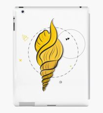 Yellow shell iPad Case/Skin