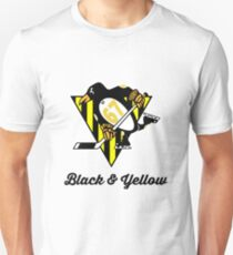 Black Yellow Wiz Penguins Pittsburgh hiphop trap T-Shirt