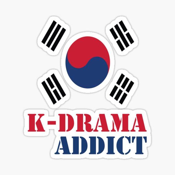 K-drama Addict Sticker