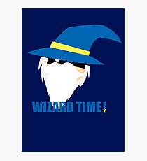 WIZARD TIME! Photographic Print
