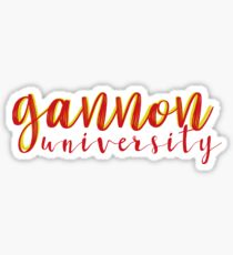 Gannon University Sticker