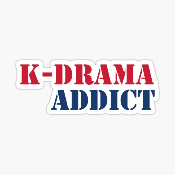 K-drama Addict 2 Sticker