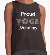 Proud Yoga Mommy Contrast Tank