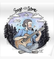 avi kaplan - sage and stone Poster