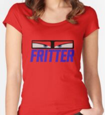 Mrs. Fritter - Cars 3 Women's Fitted Scoop T-Shirt