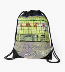Art Deco Plaza Port Talbot - An Old Touch of Class Drawstring Bag