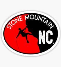 STONE MOUNTAIN NORTH CAROLINA CLIMBING MOUNTAINEERING ROCK RAPPELLING Sticker