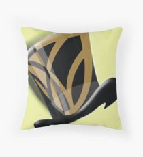 Wake Forest Top Hat Throw Pillow