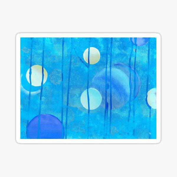 light blue sphere Sticker