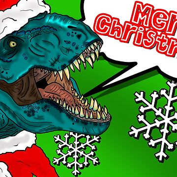 Santa Roars! by SimplyMrHill