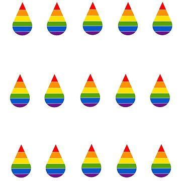 It's Raining Pride by GlassTable