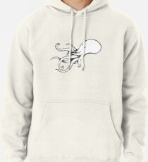 The Squid (solid colour) Pullover Hoodie