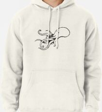 The Squid (transparent) Pullover Hoodie