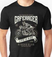 Cafe Racer - Life Is A Ride - Riders Club Unisex T-Shirt