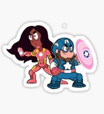 Steven & Connie: Assemble! Sticker