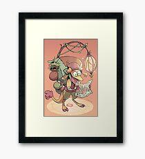 kobold adventurer Framed Print