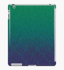 deep sea scales iPad Case/Skin