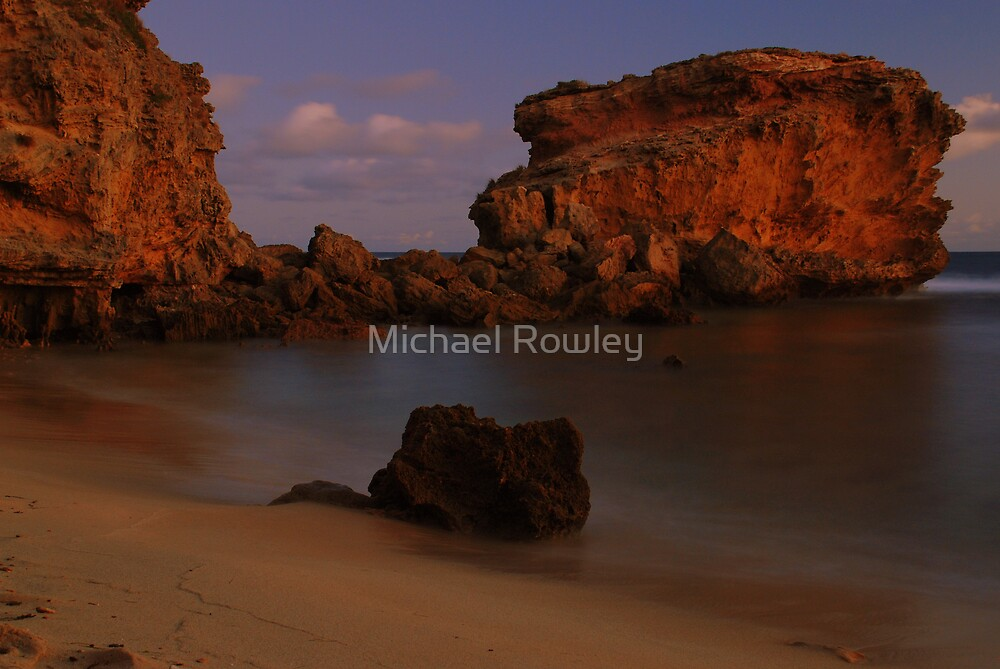 Sunset Rock by Michael Rowley