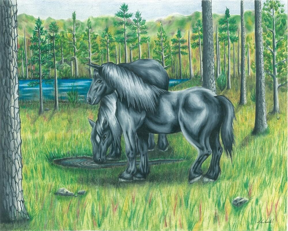 Wild Horses by sashadawn