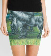 Wild Horses Mini Skirt