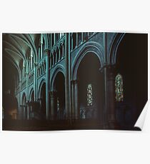Nave Cathedral Lausanne Switzerland 19840817 0025 Poster