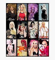 RuPaul's Drag Race Winners Photographic Print
