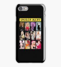 Spoiler Alert - Winners from Rupaul's Drag Race iPhone Case/Skin