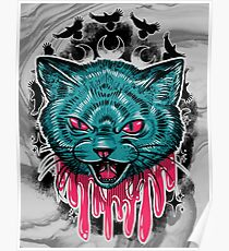 Mad Cat Poster